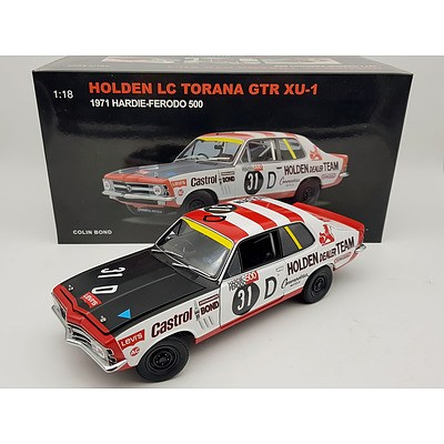 AUTOart 1971 Holden Torana LC GTR XU-1 1:18 Scale Model Car