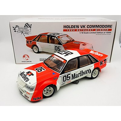 Classic Carlectables 1984 Holden VK Commodore Peter Brock Limited Edition 1:18 Scale Model Car