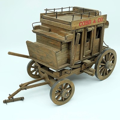 Vintage Hand Crafted Carriage Wagon