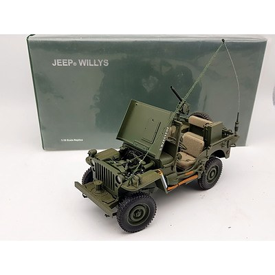 AUTOart Signature Jeep Willys 1:18 Scale Model Car