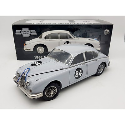 Model-Icons 1962 Jaguar Mark 2 1:18 Scale Model Car