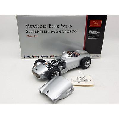 CMC Mercedes-Benz W196 Silberpfeil-Monoposto 1:18 Scale Model Car