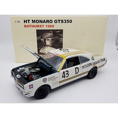 AUTOart 1969 Holden HT Monaro GTS350 Peter Brock 1:18 Scale Model Car