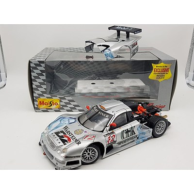 Maisto Mercedes-Benz CLK-GTR 1:18 Scale Model Car