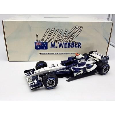 Hot-Wheels BMW F1 Mark Webber Limited Edition 1:18 Scale Model Car
