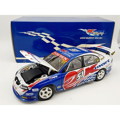 AUTOart 2003 Holden Commodore Greg Murphy 1:18 Scale Model Car