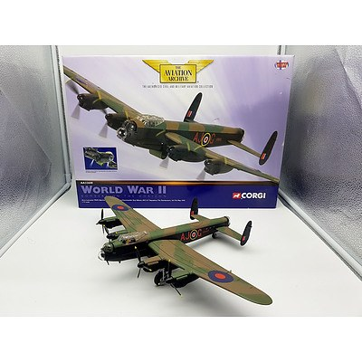 Corgi Avro Lancaster MkIII (special) - AJ-G ED392 O/C 617 Squadron