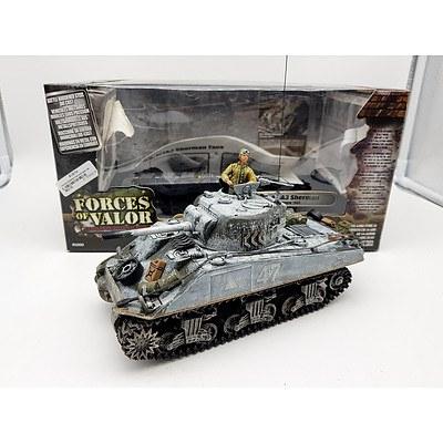 Unimax 1945 U.S M4A3 Sherman Tank 1:38 Scale Model