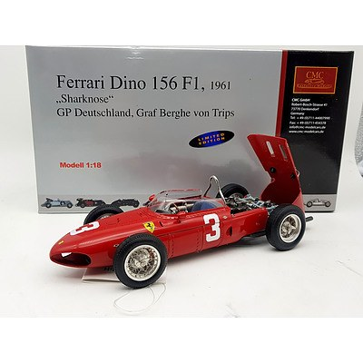 "CMC 1961 Ferrari Dino 156 (F1) ""Sharknose"" 1:18 Scale Model Car"