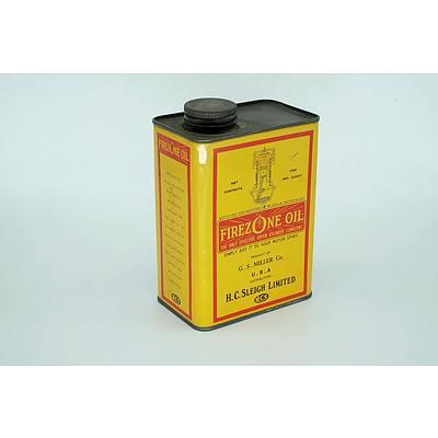 Firezone Oil Tin