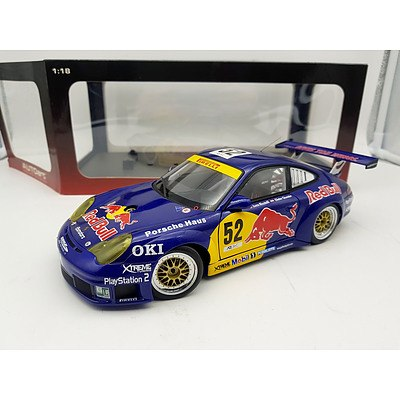 AUTOart 2004 Monza Porsche 911 (996) GT3 RSR 1:18 Scale Model Car