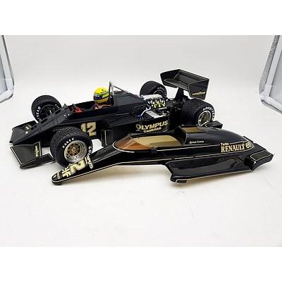 Minichamps 1986 F1 98T Lotus Renault Ayrton Senna 1:12 Scale Model Car