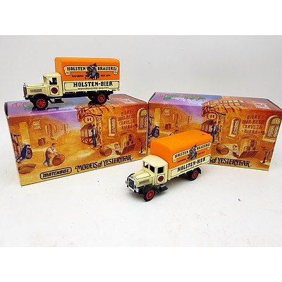 "Matchbox ""Models of Yesteryear"" 1932 Mercedes-Benz L5 Lorry's - Lot of 2"