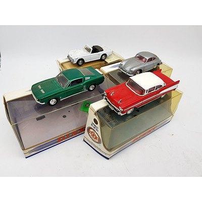 Matchbox DINKY Porsche, Triumph, Chevrolet & Ford 1:43 Scale Model Cars - Lot of 4