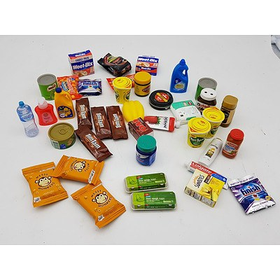 Supermarket Mini Collectables - Assorted Lot