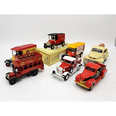 Assorted Lot of Early Ford Model Trucks including Matchbox - Lot of 7