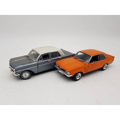 OZ Legends Holden Torana GTR XU-1 & Holden EH Sedan 1:32 Scale - Lot of 2