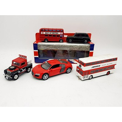 Various Model Vehicles - Assorted Lot of 5