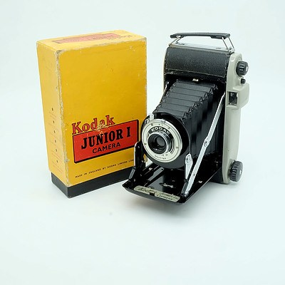 Kodak Junior 1 Camera with Original Box