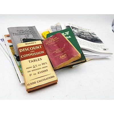 Vintage and Modern Race Programmes & Booklets