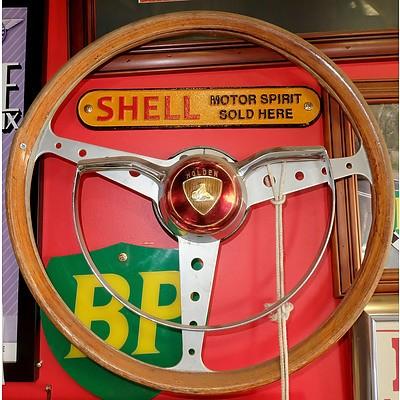 Vintage FE Holden Steering Wheel