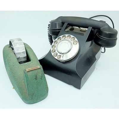 English GEC Phone, Durex Metal Tape Dispenser