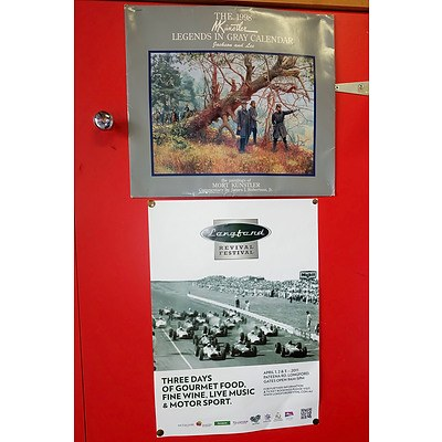 Group of Automotive and Advertising Posters