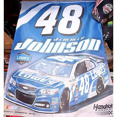 Hendrick Motorsports 48 Jimmy Johnson Banner