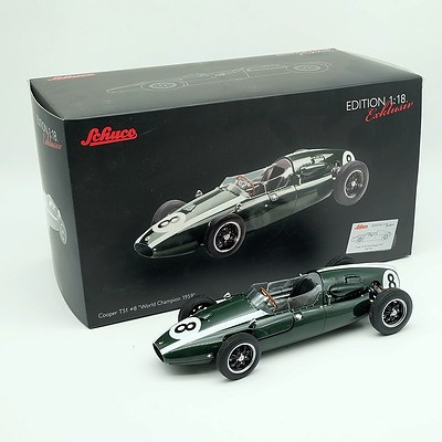 Schuco 1959 Cooper T51 Limited Edition 437/2000 1:18 Scale Model Car