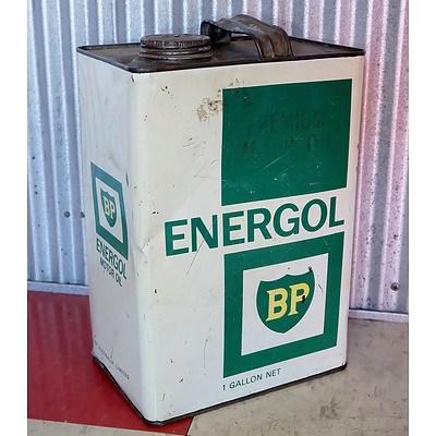 Vintage BP Energold 1 Gallon Oil Drum