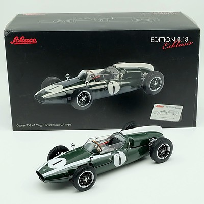 Schuco 1960 Cooper T53 Limited Edition 545/2000 1:18 Scale Model Car