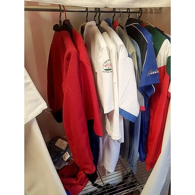 Assorted Motorsport Jackets and Shirts - Lot of 14