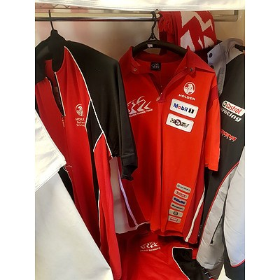 Holden/HSV Shirts, Jacket and Scarf - Lot of 5