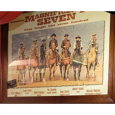 Framed The Magnificent Seven Poster