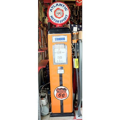 Gilbert and Barker Gilbarco Restored Petrol Bowser