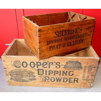 Coopers Dipping Powder 125lb Crate and Another