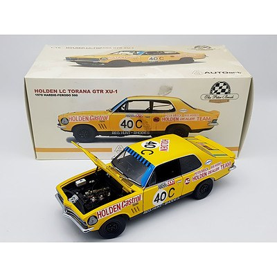 AUTOart 1970 Holden LC Torana GTR XU-1 Peter Brock Collection 1:18 Scale Model Car