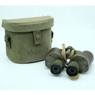 Pair of Military Bino Prism G.S 6x30 Binoculars