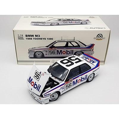 AUTOart 1988 BMW M3 Tooheys 1000 Peter Brock Collection 1:18 Scale Model Car