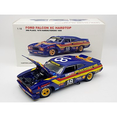 AUTOart 1978 Ford Falcon XC Hardtop Hardie-Ferodo 1:18 Scale Model Car