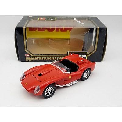 Burago 1957 Ferrari Testa Rossa 1:24 Scale Model Car