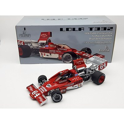 Classic Carlectables 1976 Lola T332 Limited Edition 443/750 1:18 Scale Model Car