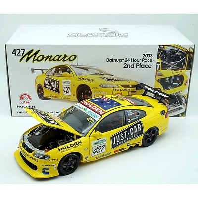 Classic Carlectables 2003 Holden 427 Monaro 1:18 Scale Model Car