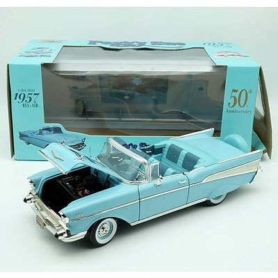 American Muscle 1957 Bel-Air Peggy Sue Edition 1:18 Scale Model Car