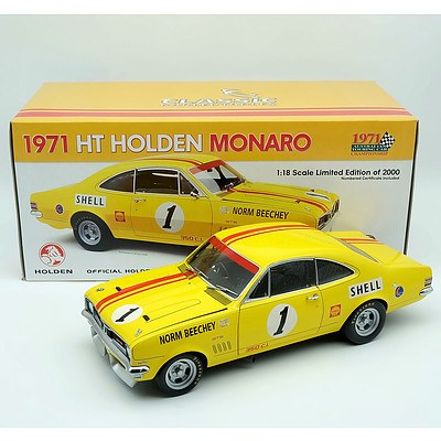 Classic Carlectables 1971 Holden HT Monaro 1:18 Scale Model Car