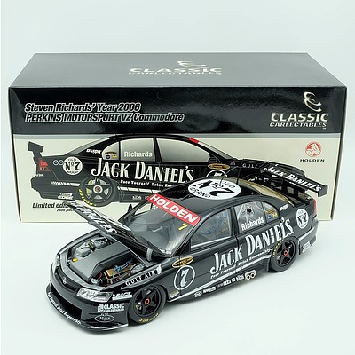 Classic Carlectables 2006 Holden VZ Perkins Motorsport Commodore 1:18 Scale Model Car