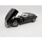 AUTOart Jaguar E-Type Black 1:18 Scale Model Car
