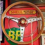 Vintage FE Holden Steering Wheel