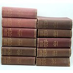 Eleven Volumes of The Official History of Australia in the War of 1914-18, Angus and Robertson 1921-1939