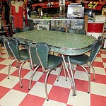 Retro Laminex Dining Suite Circa 1960s